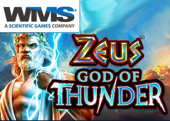Zeus god of Thunder WMS gokkast online spelen