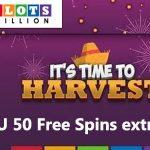SlotsMillion Bonus code – Harvest