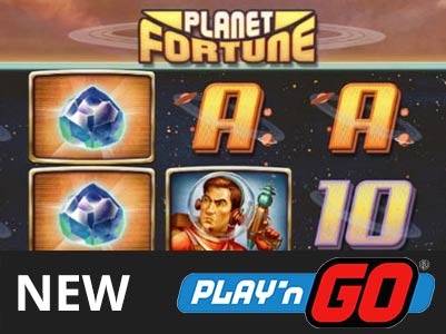Play'n Go:Planet Fortune的新插槽