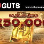 Februari bonus Guts
