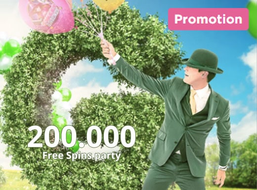 Win gratis spins tot 22 april bij Mr Green. Er worden tot 200.000 spins verdeeld.