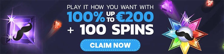 Claim de bonus van Mr Play casino