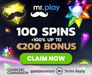 Mrplay online casino bonus