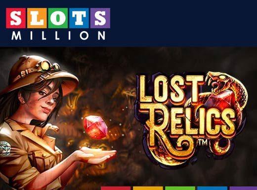Lost Relics Promo Code slotsmillion