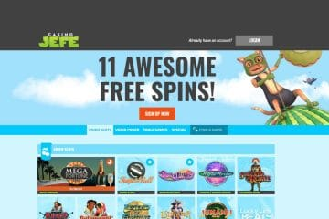 CasinoJefe Homepage