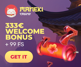 Claim € 333 bonus and 99 spins
