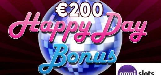 Motta € 200 bonus for den internasjonale dagen med flaks på Omni Slots casino
