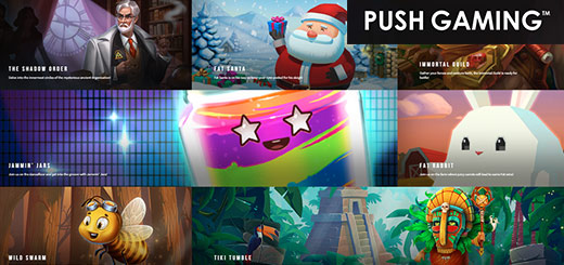 Play the best games of Push Gaming now at White Hat Gaming!
