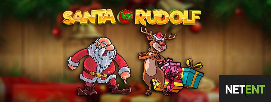 Joulupukin vs. Rudolph-lähtöpaikka alkaen Netent