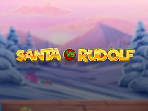 Santa vs Rudolf logo ocf