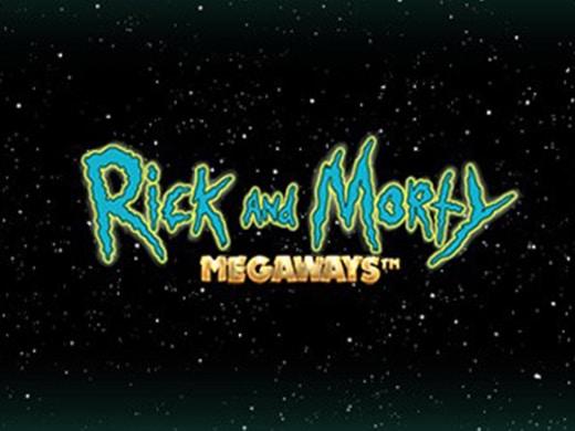 rick and morty megaways logo ocf
