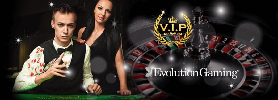 VIP轮盘赌是在Evolution Gaming赌场为豪客提供的。
