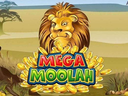 Mega Moolah โลโก้