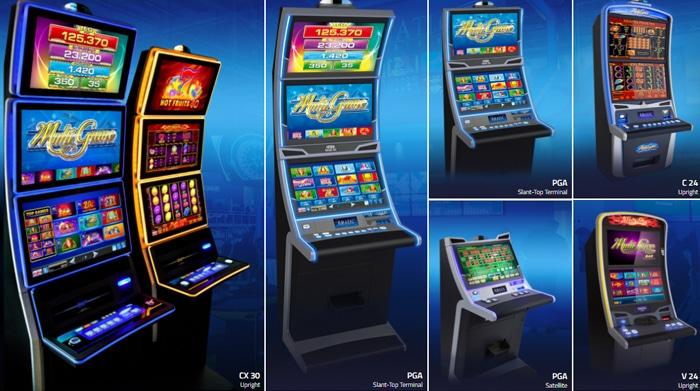 Ze zijn vooral bekend door de gokkasten in de fysieke casino's