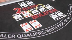 Dealer deelt kaarten