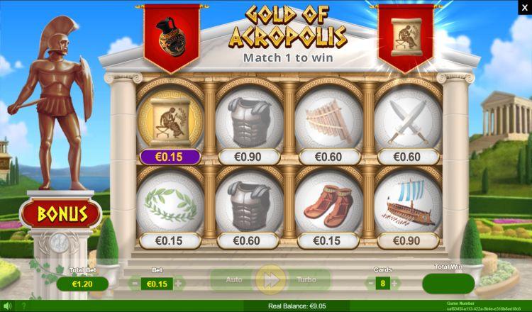 Krasloten bij een online casino