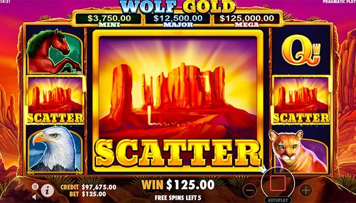 Wolf Gold bonusronde