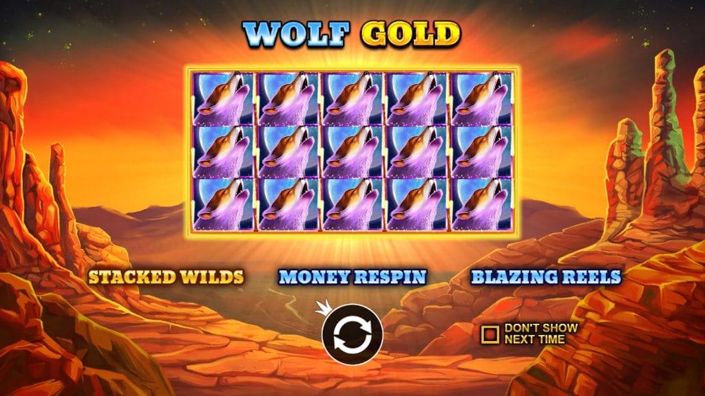 Wolf Gold startpagina