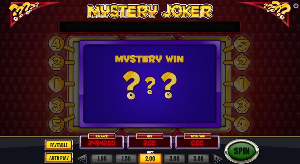 mystery joker online casino