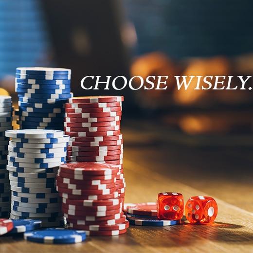vælg logo online casino
